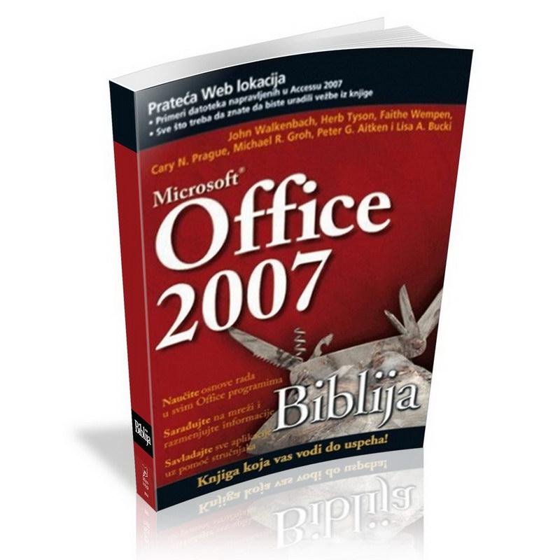 MICROSOFT OFFICE 2007 BIBLIJA